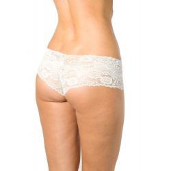 Dámské kalhotky Silvia - bílá - XL/bílá