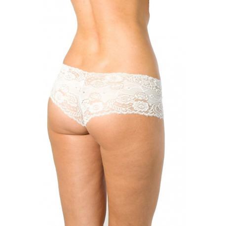 Dámské kalhotky Silvia - bílá - M/bílá