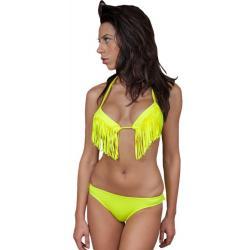 Dvoudílné plavky Ysabelle žluté - spodní/horní díl: - S/S